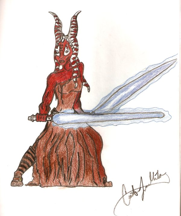 Shaak Ti by CatLady