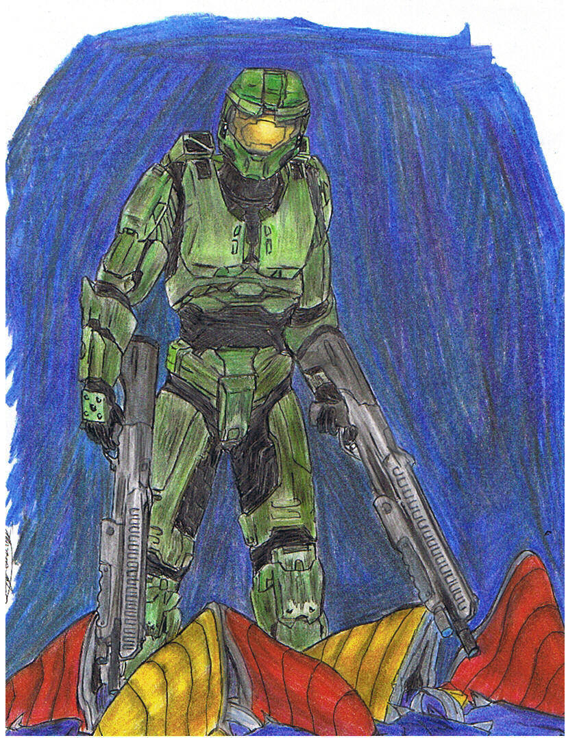 Master Chief grunts by CatLady