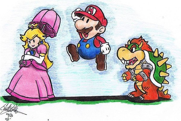 Paper Mario by CatLady