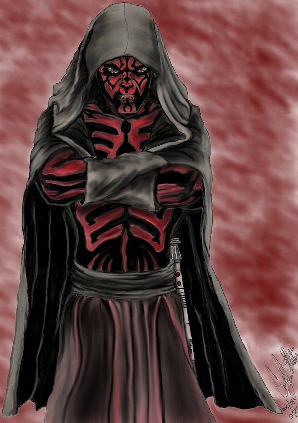Darth Maul Standing GIMP by CatLady