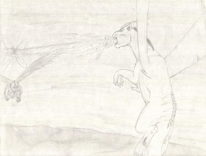 Ravin VS. Nero by CatWhoHas14Tails