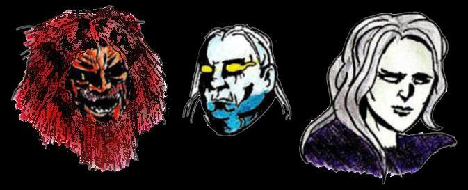 Three Gods by Cataquack2Reacto
