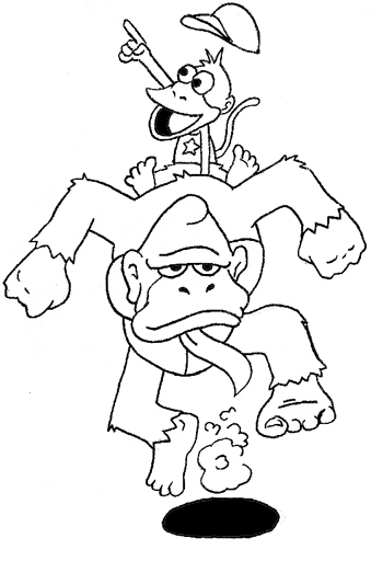 The Ape Escape by Cataquack2Reacto