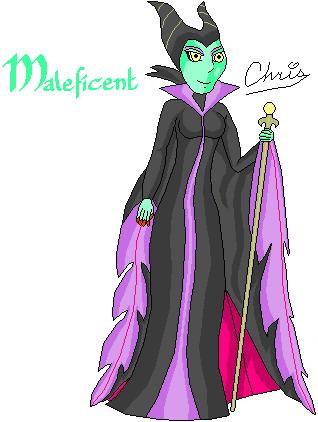 Maleficent by Cclarke