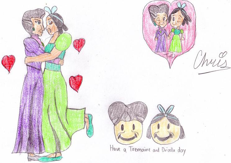 Lady Tremaine x Drizella by Cclarke