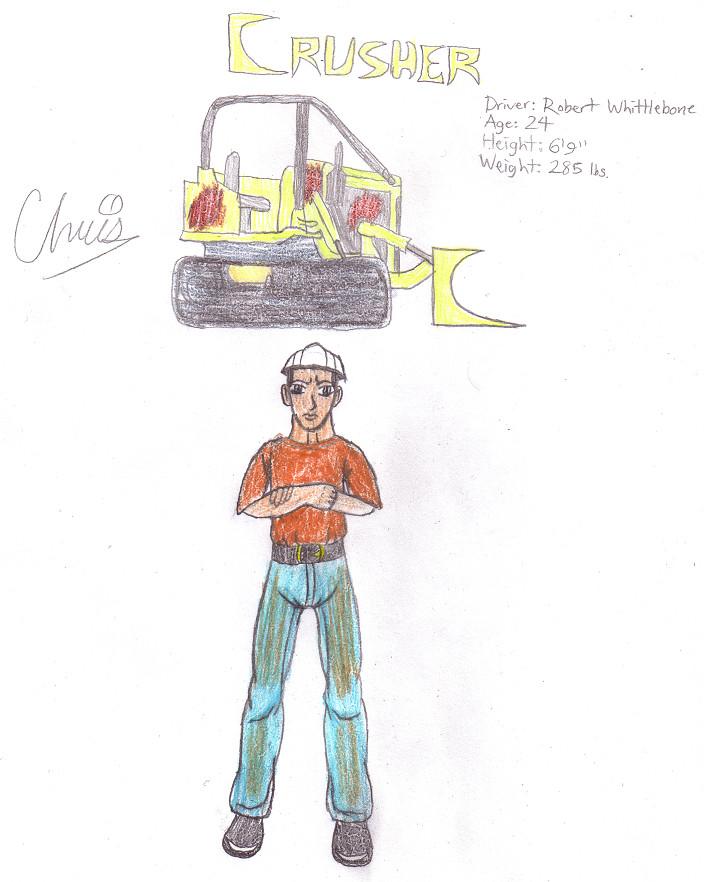Crusher/Robert Whittlebone by Cclarke