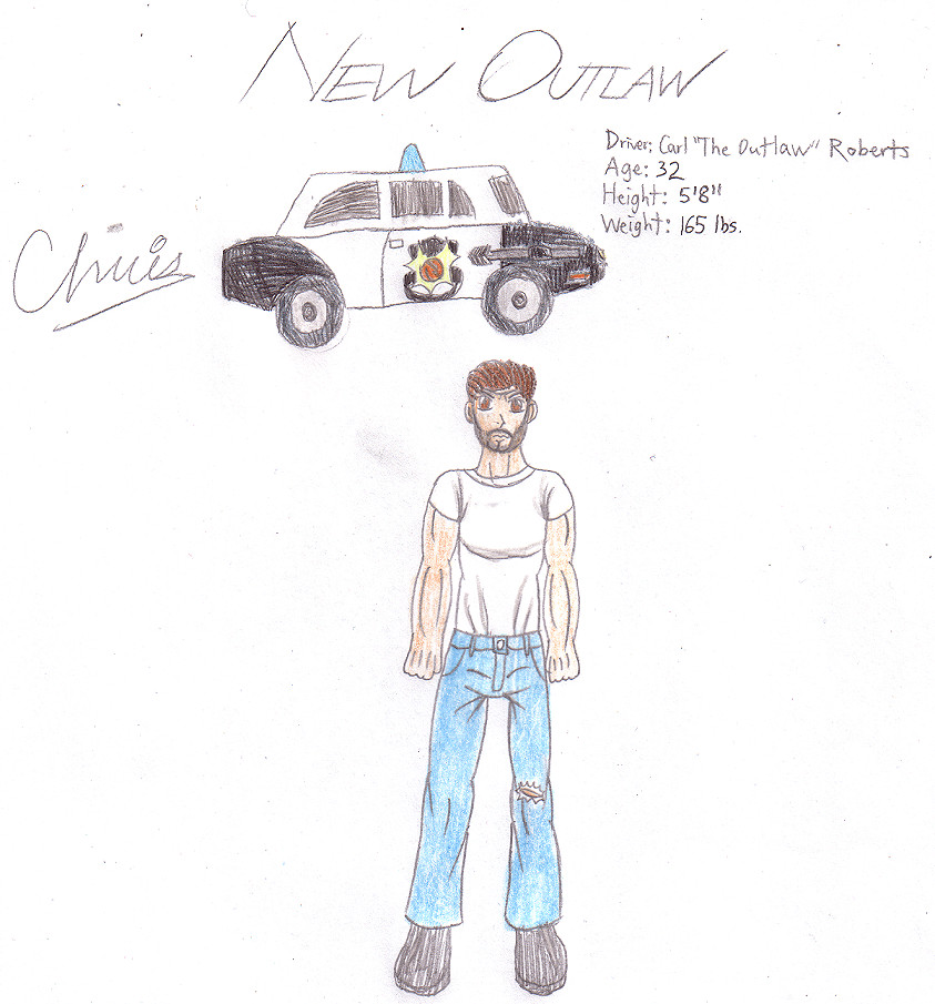 "New Outlaw/Carl ""The Outlaw"" Roberts by Cclarke"