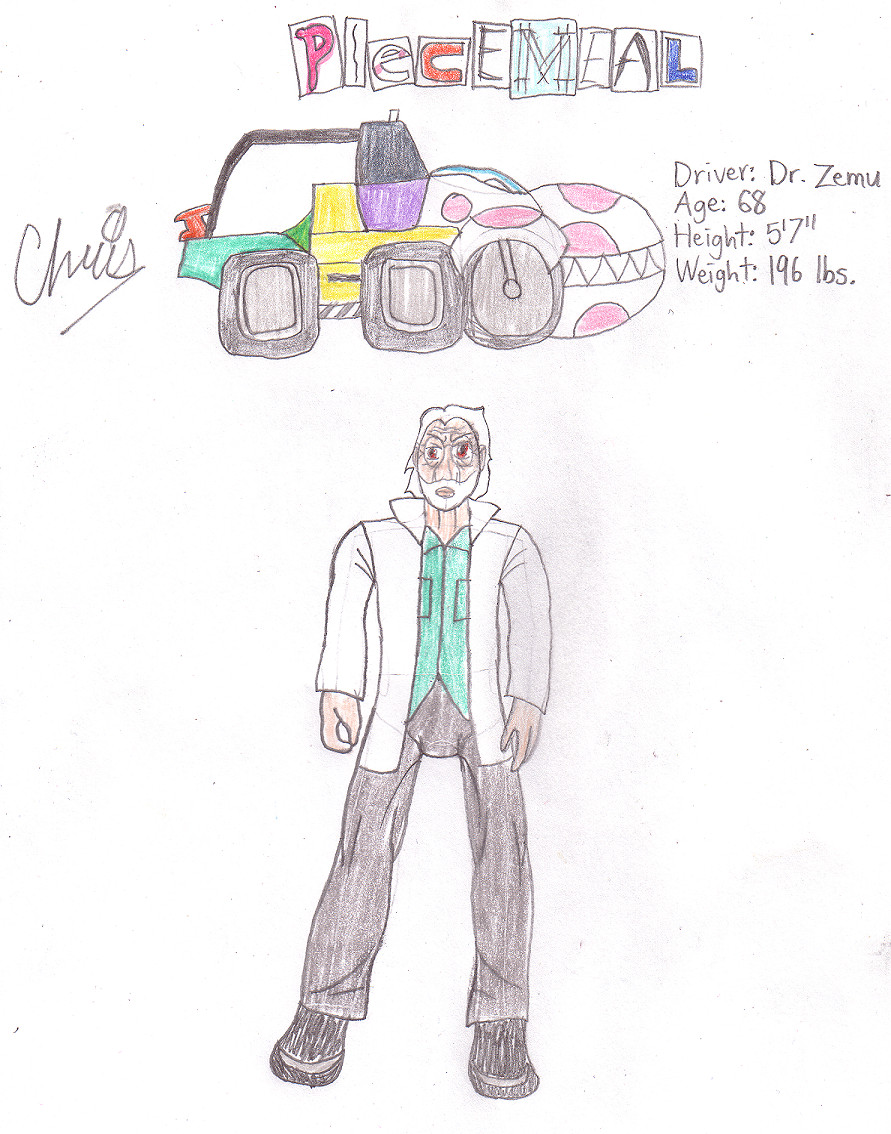 Piecemeal/Dr. Kevin Zemu by Cclarke