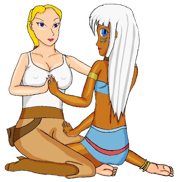 Helga x Kida by Cclarke