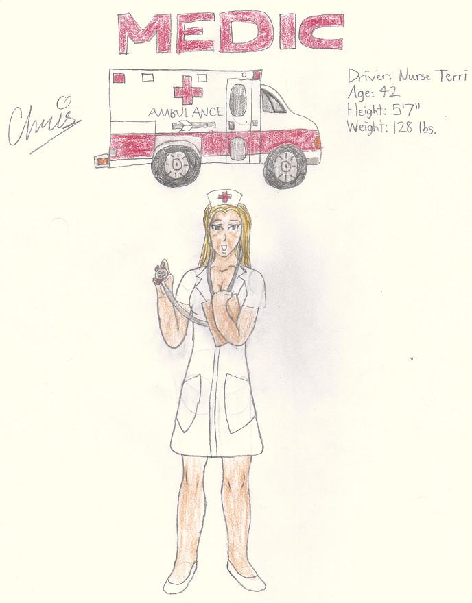 Medic/Terri Shavo by Cclarke