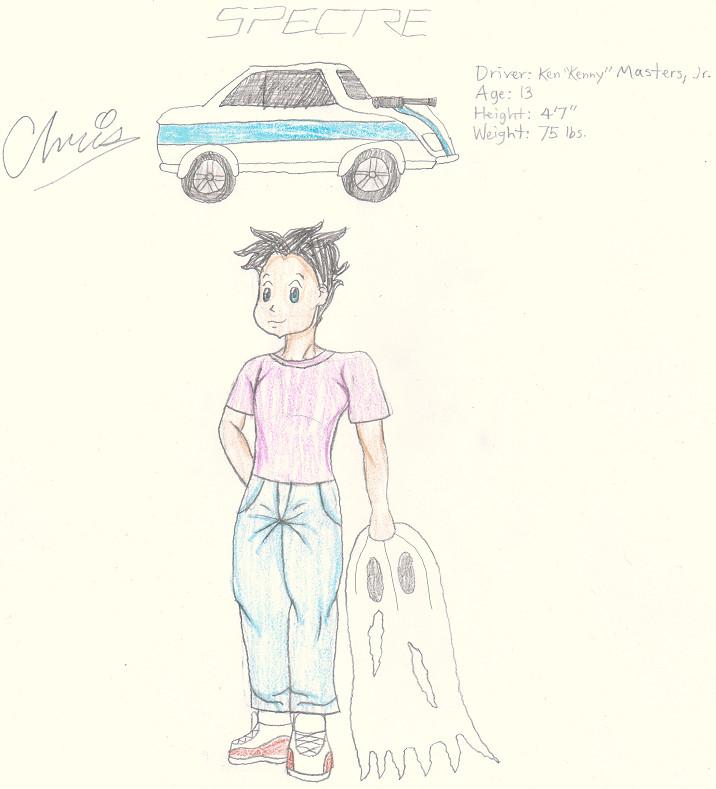 """Spectre/Ken """"Kenny"""" Masters, Jr. by Cclarke"""
