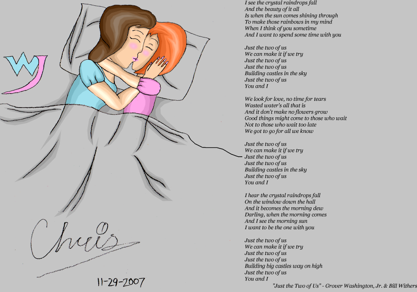 The long kiss goodnight by Cclarke