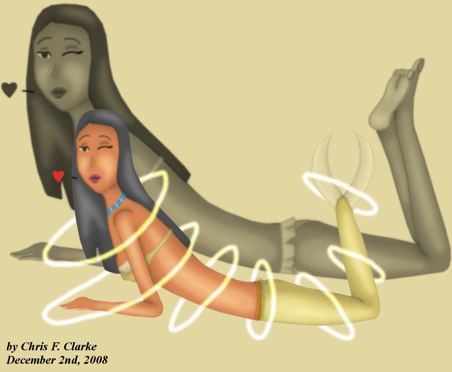 Mermaid Transformation: Pocahontas by Cclarke