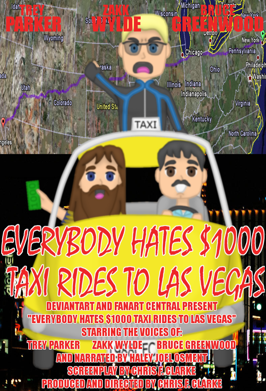 Everybody Hates Thousand-Dollar Taxi Rides to Las Vegas by Cclarke
