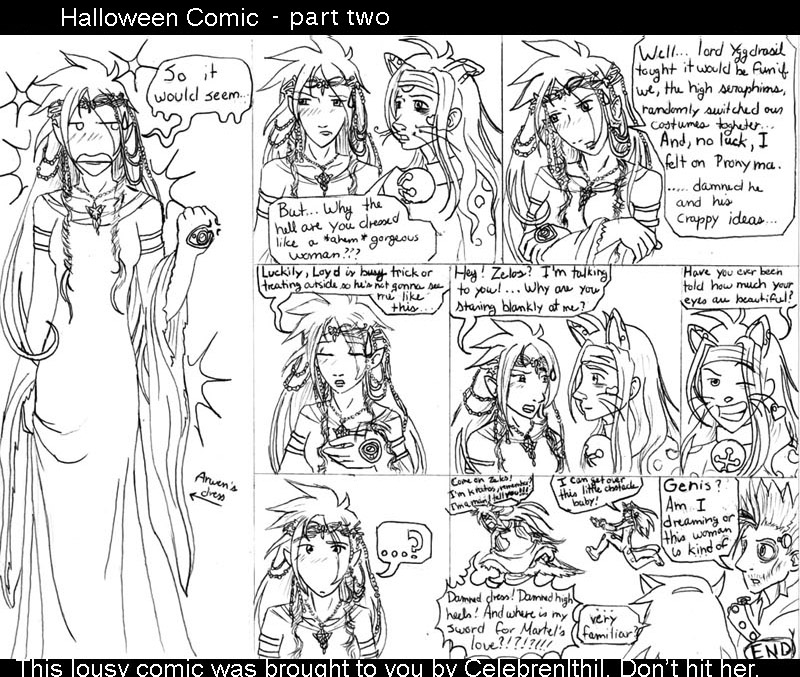 Halloween comic part2 by CelebrenIthil
