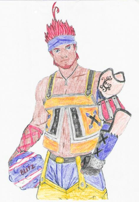 Wakka by Celtic_Shippo
