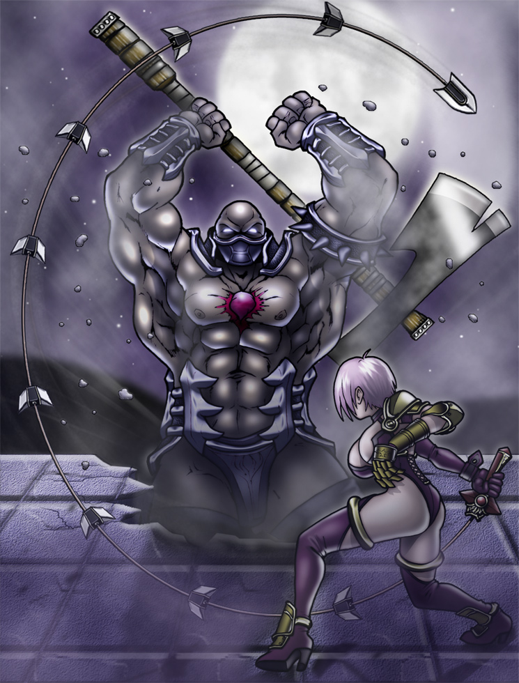 Ivy VS Astaroth by Cerberus_Lives