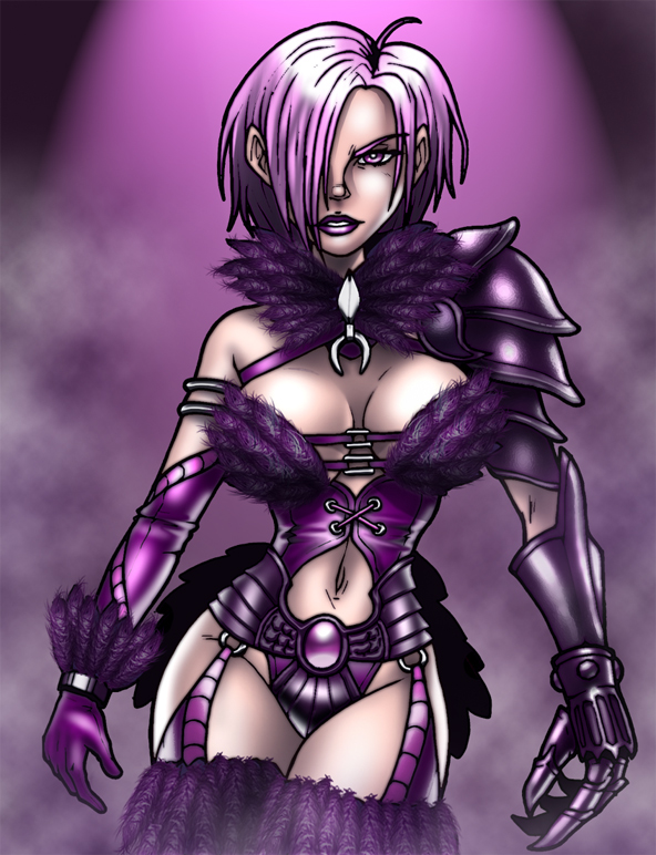 Ivy - Raven Outfit by Cerberus_Lives