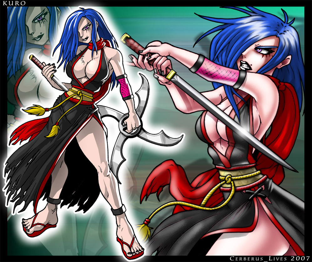 Kuro Vega (ninja) by Cerberus_Lives