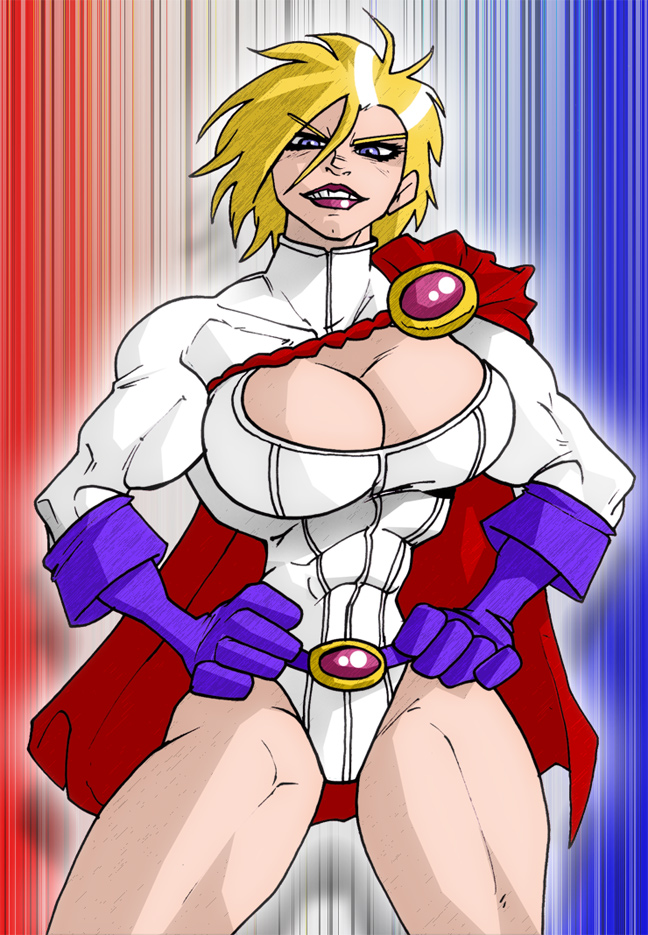 Power Girl 2 by Cerberus_Lives