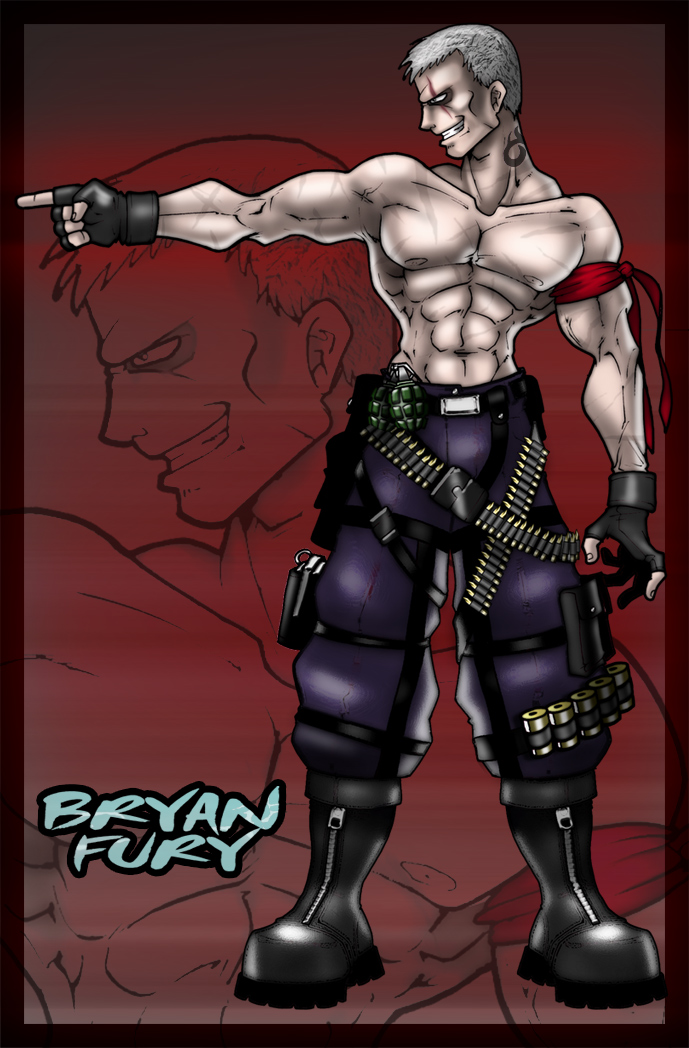 Bryan Fury by Cerberus_Lives