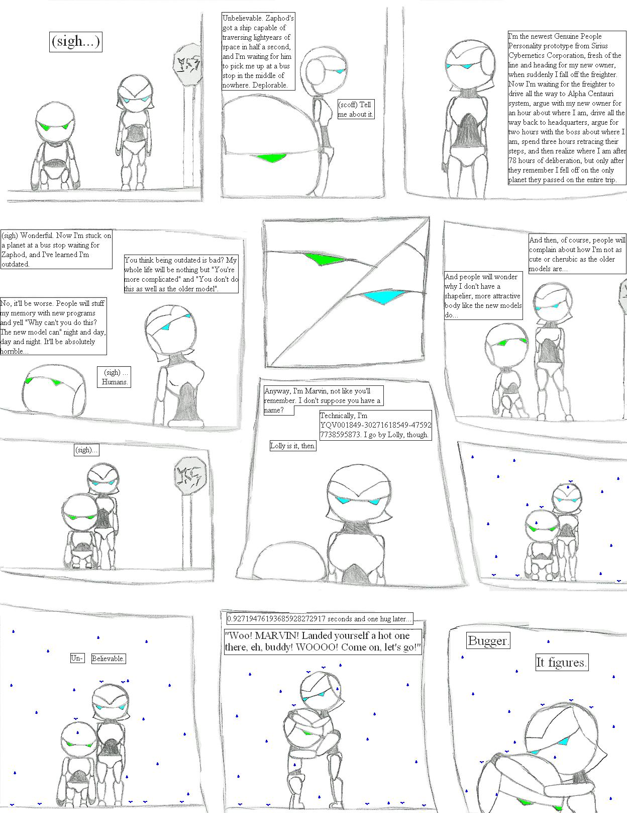 Marvin's Comic by CharonTheSabercat