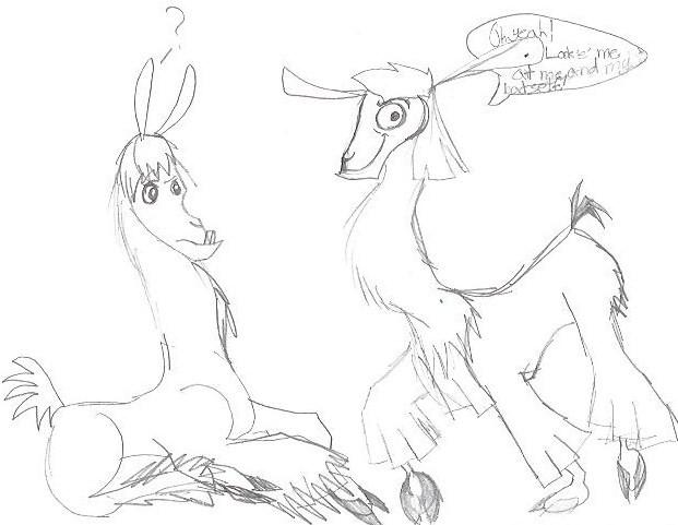 Llama! by CheezyC
