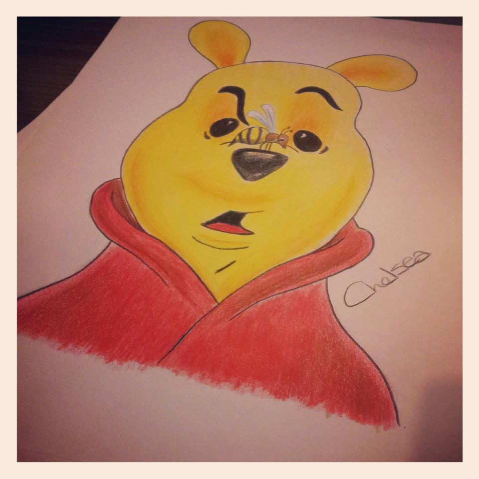 Winnie The Pooh by Chelsea93roc