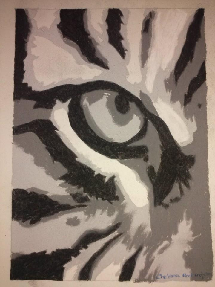 Eye of the Tiger by Chelsea93roc