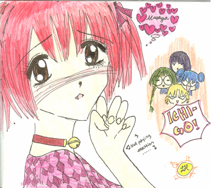 Blushie Ichigo ^^ by Cherry_Madwoman