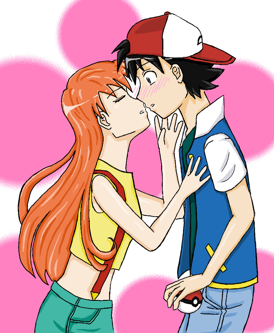 Ash and Misty by ChibiGirl1370