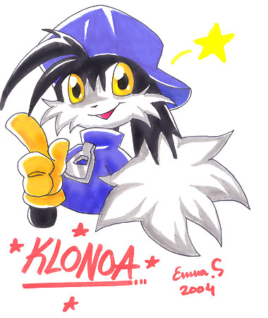 Klonoa the Hero by ChibiHobbit