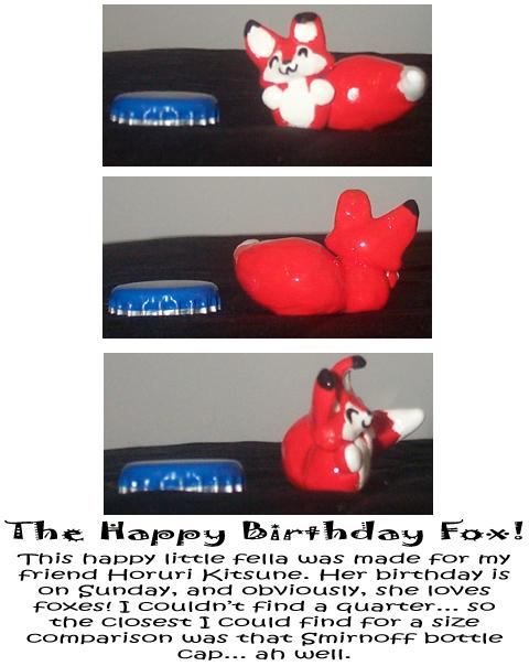 The Happy Birthday Fox by ChibiJaime