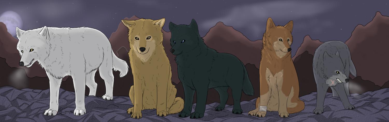 Wolf's Rain by ChibiKita