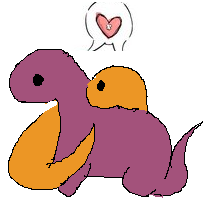 Dino Luv by ChibiLee