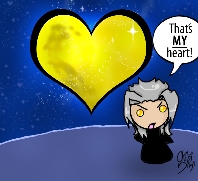 Thats MY Heart- Xemnas by ChibiMimi