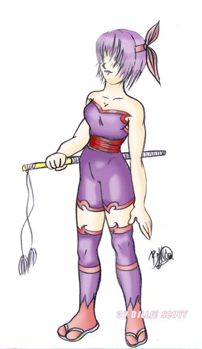 Ayane warrior by Chibi_star