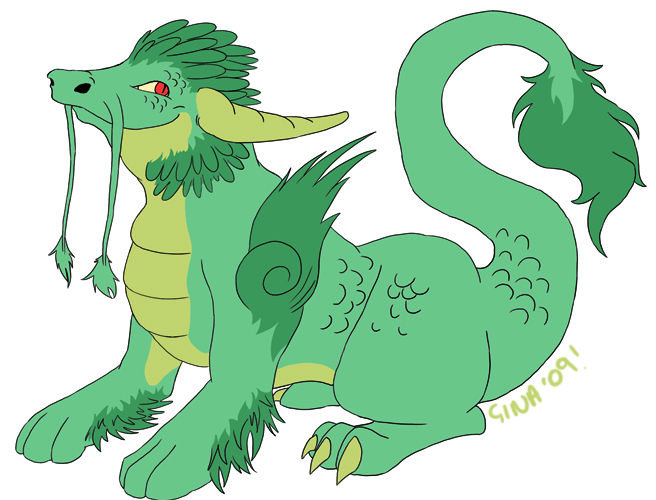 Little Dragon by Chickibo