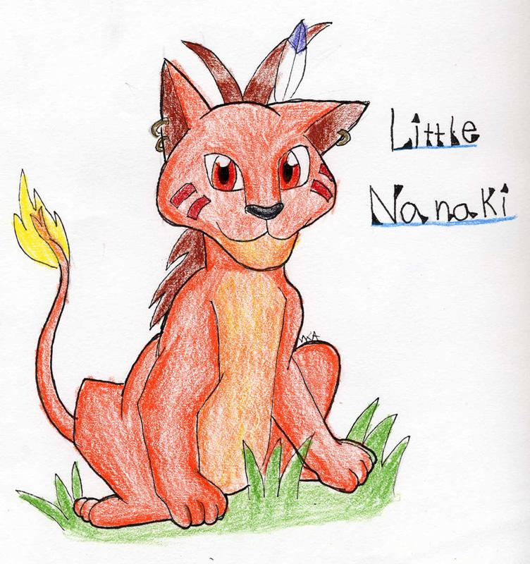 Little Nanaki by Choco_Chick_87