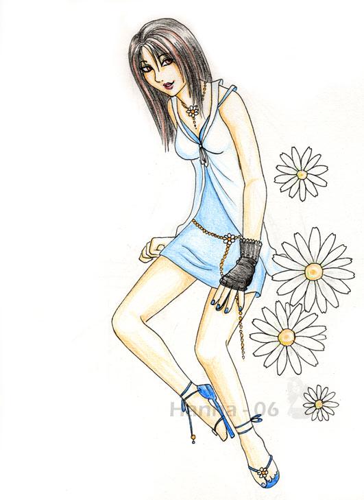 Rinoa - Summer Fashion by ChocolateCappuccino
