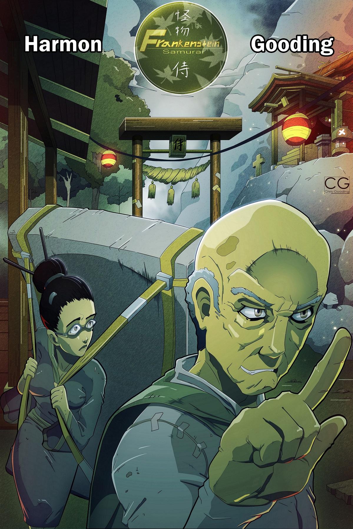 Frankenstein Samururai Cover by Chrisgooding