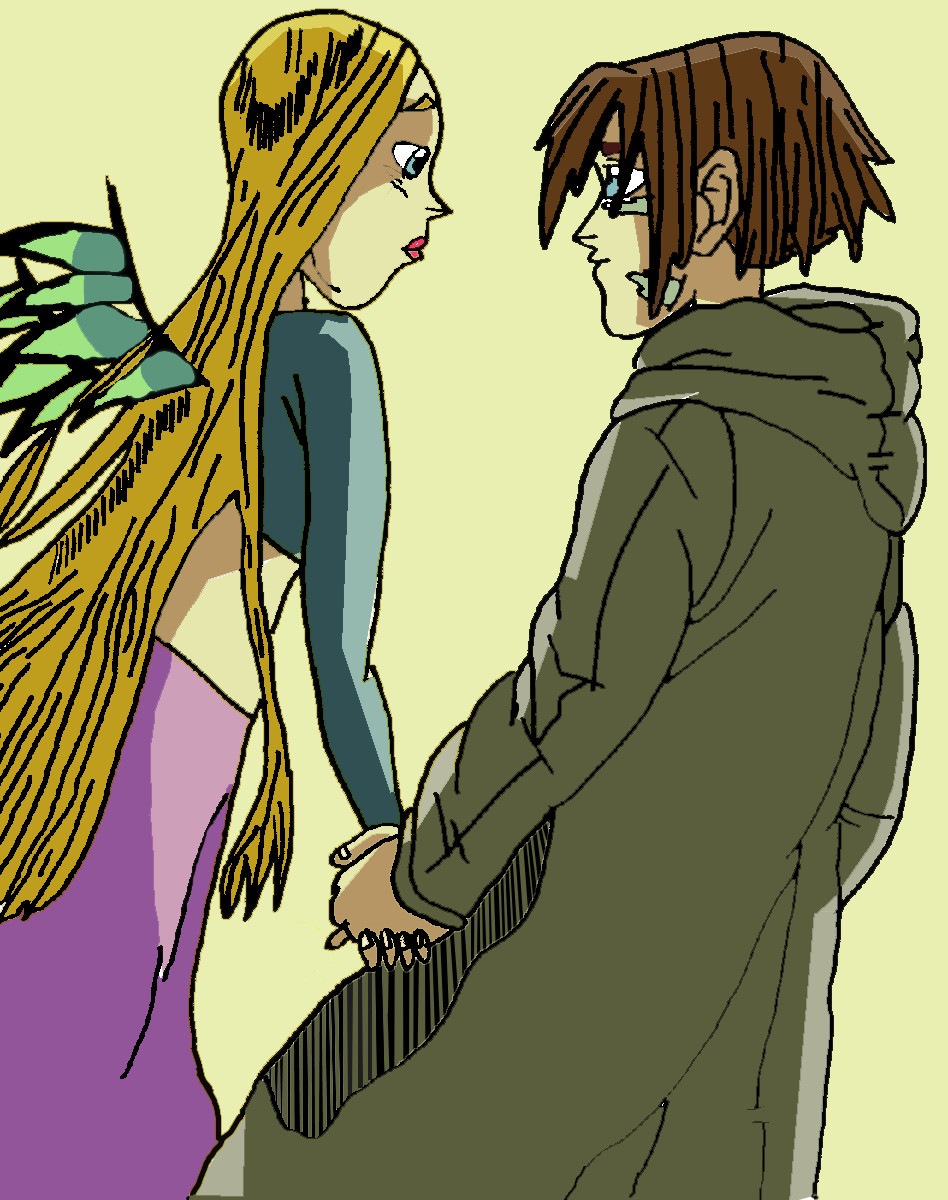 Cornelia and Caleb by Clairewitchy