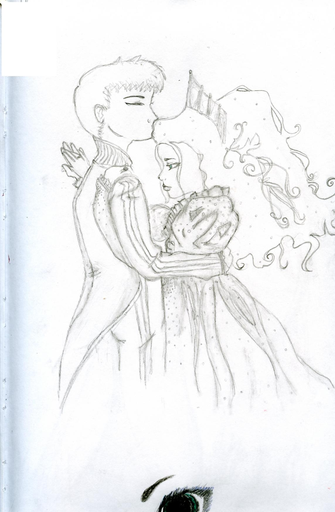Dinah and Prince from Bizenghast by ClerksX