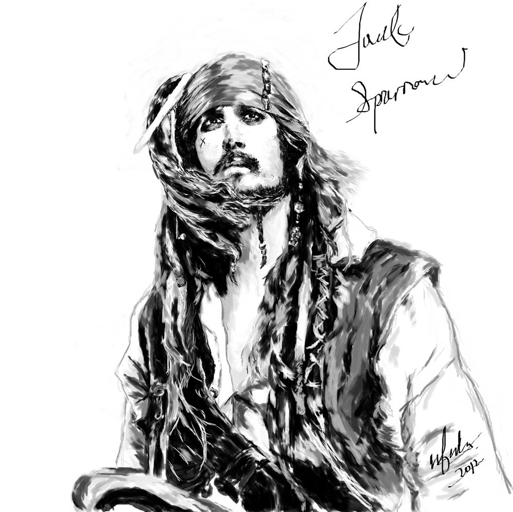 jack sparrow by Cloud_nfcheah