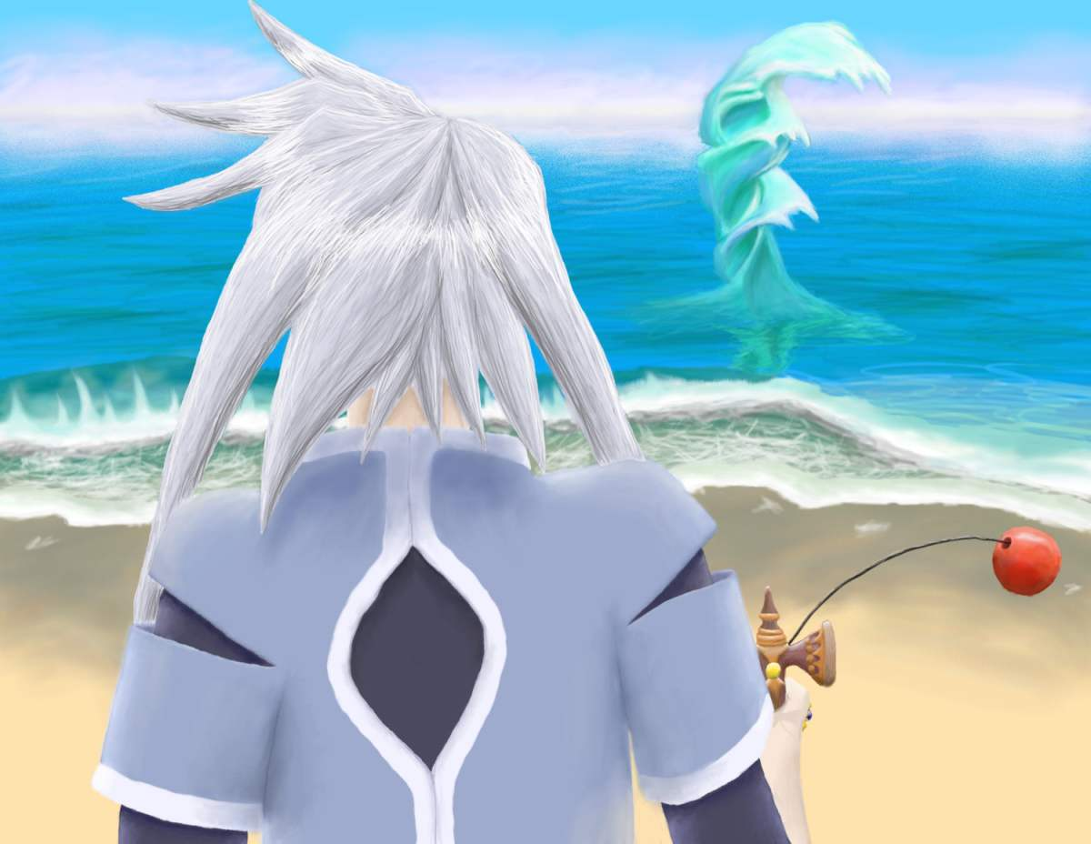 Genis: Blissful Boredom by Cobra-Mage