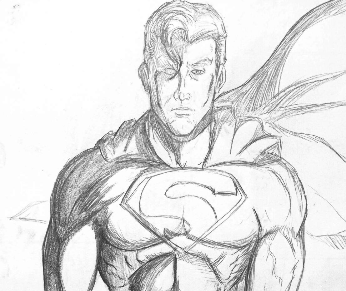 Superman by ColourofDreams