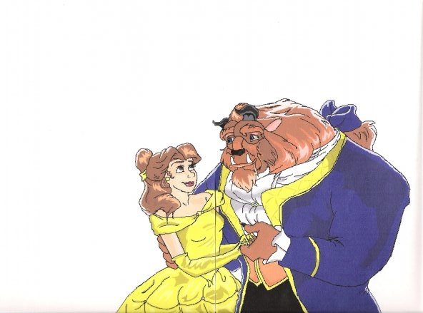 Beauty and the Beast by Concrete_Angel