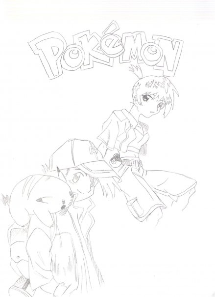 Ash and Misty by Concrete_Angel