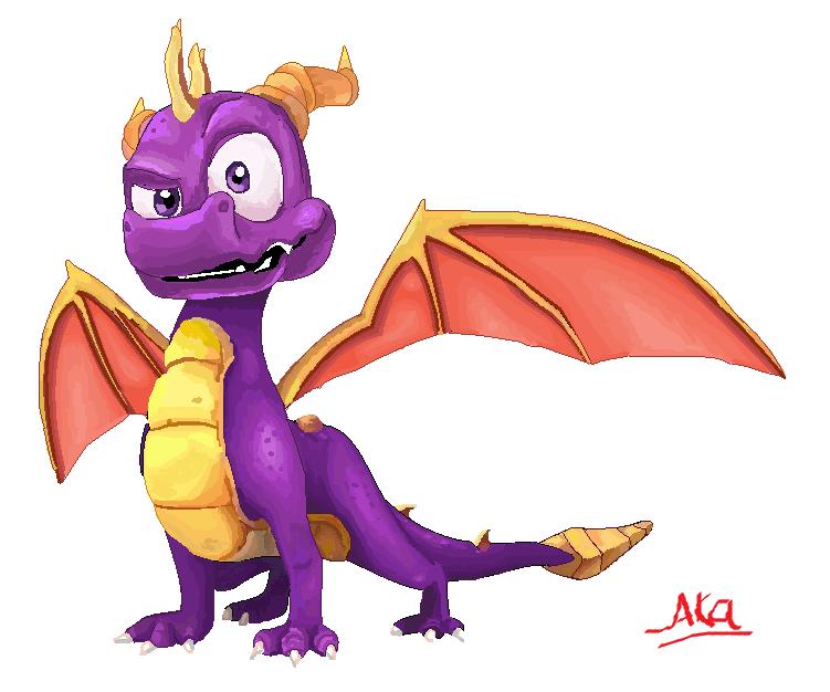 Spyro by ConkerTSquirrel