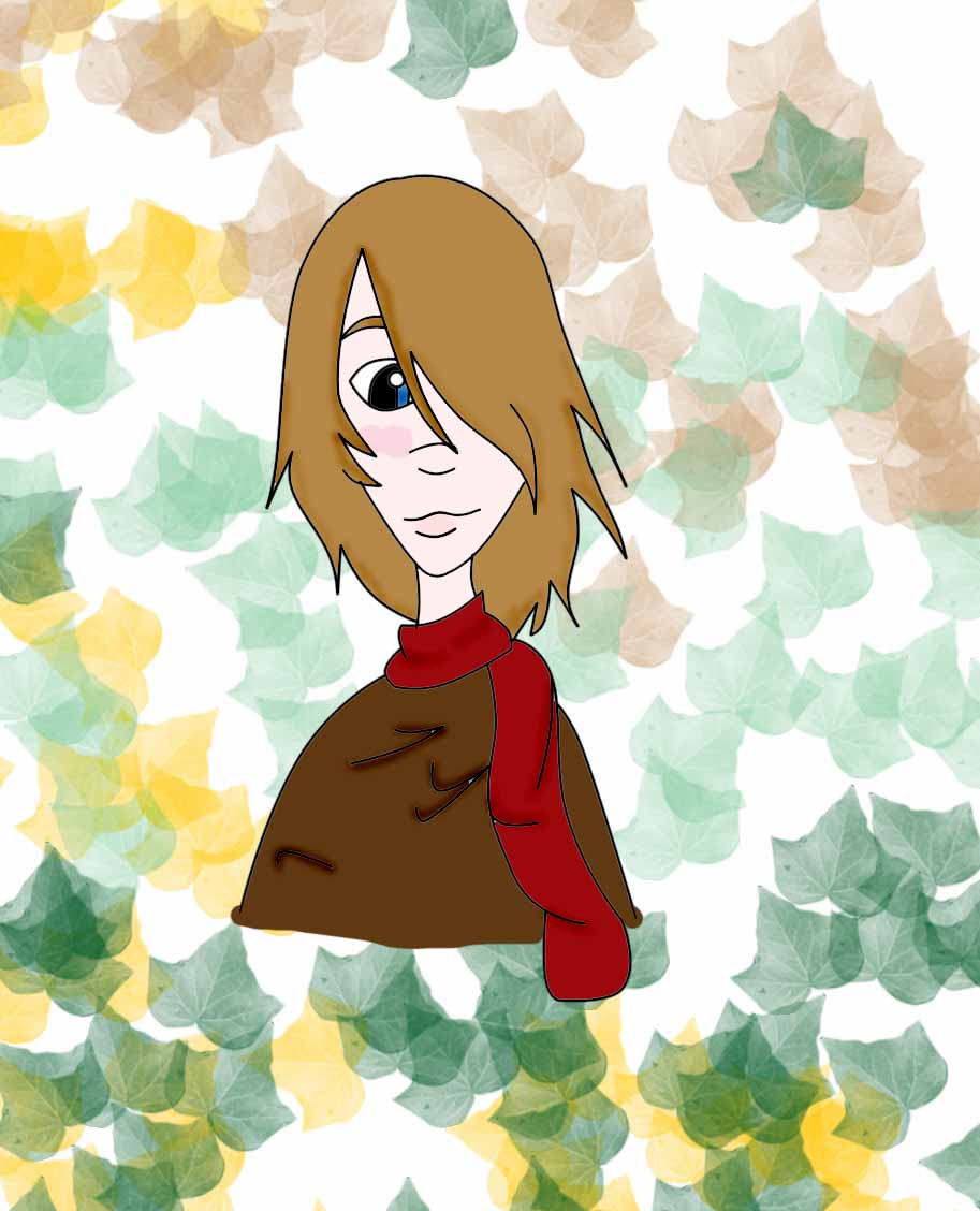 Jimmy in the autumn by Cookie